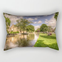 Bourton on the water Rectangular Pillow
