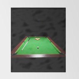 Pool Table Throw Blanket