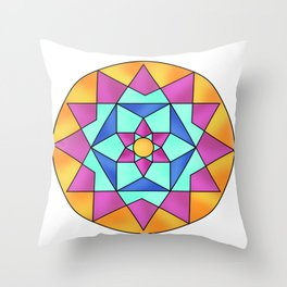Astract pattern Throw Pillow