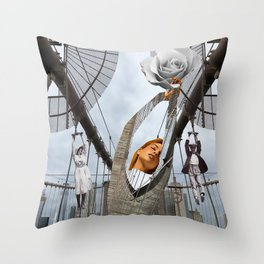 Hold on to your feelings Throw Pillow