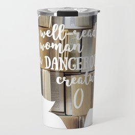 Well-Read Woman Travel Mug