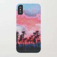 coachella iPhone & iPod Cases featuring Coachella Sunset by The Bun
