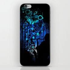 In the Keynote of Blue iPhone & iPod Skin