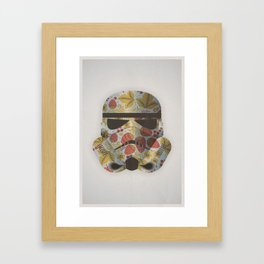 STRAWBEЯRY TROOPER Framed Art Print