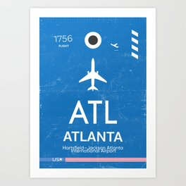 Hartsfield–Jackson Atlanta International Airport Art Print