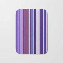 Stripes in colour 8 Bath Mat