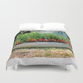 A Welcome Sight Duvet Cover