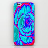 neon iPhone & iPod Skins featuring Neon by Dawn East Sider