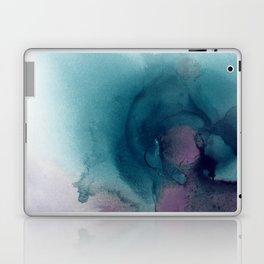 Teal Ultra Violet Vortex Laptop & iPad Skin