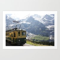 train Art Prints featuring Train by Kakel-photography