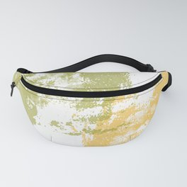 Green and Yellow Paint Patch Fanny Pack