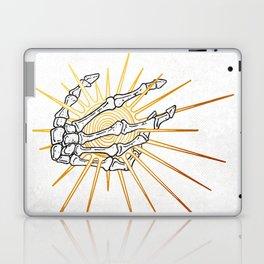 Skeleton Hand Inktober :: Dreadful Fairy Tales Laptop & iPad Skin