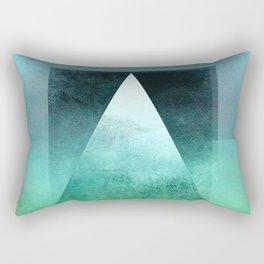 Triangle Composition X Rectangular Pillow