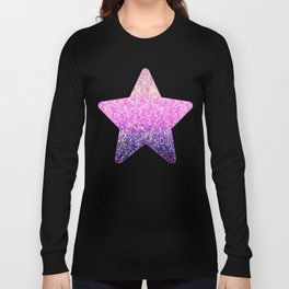 Glitter Graphic Background G104 Long Sleeve T-shirt
