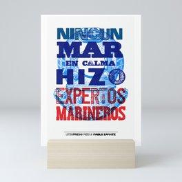 Mar en Calma Mini Art Print
