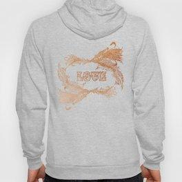 Love Rising in Copper Hoody