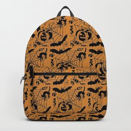 Halloween scarry pattern Backpack