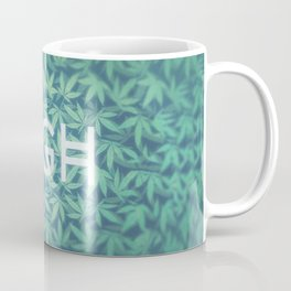 HIGH TYPO! Cannabis / Hemp / 420 / Marijuana  - Pattern Coffee Mug