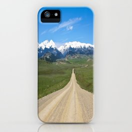 Old Country Road iPhone Case