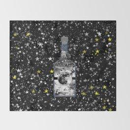 Spaced Rum Throw Blanket