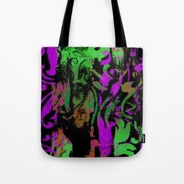 Magenta Chartreuse Tote Bag
