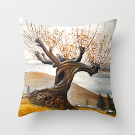 Whomping Willow Throw Pillow