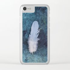 Feather II Clear iPhone Case