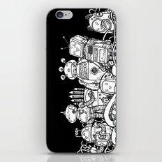 Tiny robots iPhone & iPod Skin