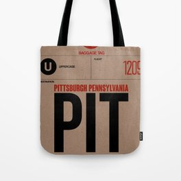 PIT Pittsburgh Luggage Tag 1 Tote Bag