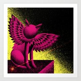 Beam (Electric Catnip) Art Print
