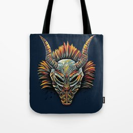 Killmonger Tribal Mask Tote Bag