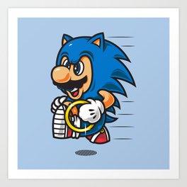 Super Jump MH Art Print