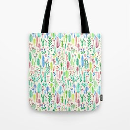 flowers at the white garden Tote Bag