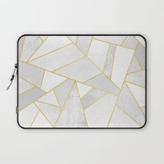 White Stone Laptop Sleeve