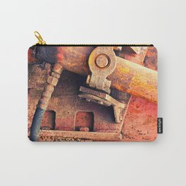 Old rusty iron piece Carry-All Pouch