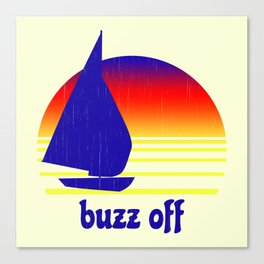 Buzz Off Canvas Print