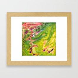 Wax #6 Framed Art Print