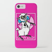 onward iPhone & iPod Cases featuring Onward! by Sellergren Design - Art is the Enemy