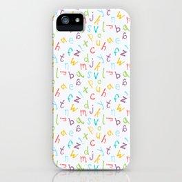 ABCs iPhone Case