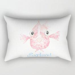 Explore Little Fish Rectangular Pillow