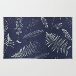 Botanical Fern Rug