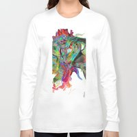 archan nair Long Sleeve T-shirts featuring Mind Mirror by Archan Nair
