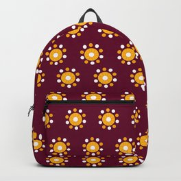 Snazzy Seminoles - Garnet & Gold FSU Print Backpack