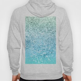 Seafoam Aqua Ocean MERMAID Girls Glitter #1 #shiny #decor #art #society6 Hoody