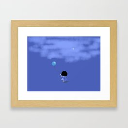 Bluey remembers Framed Art Print