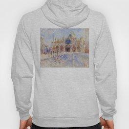 Auguste Renoir - The Piazza San Marco in Venice Hoody