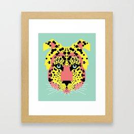 Modular Cheetah Framed Art Print