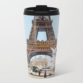 Eiffel Tower 1889 Metal Travel Mug