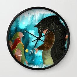 Solas Frees the Elves Wall Clock