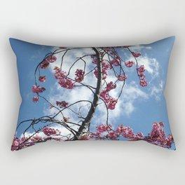 Cherries in the Sky Rectangular Pillow